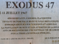 souvenir, à Sète sur le môle