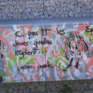 au Mont St Clair, à Sète, hommage à tonton Georges