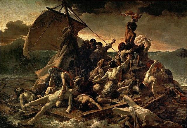640px-JEAN_LOUIS_THÉODORE_GÉRICAULT_-_La_Balsa_de_la_Medusa_(Museo_del_Louvre,_1818-19)